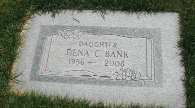 BANK, DENA C. - DuPage County, Illinois | DENA C. BANK - Illinois Gravestone Photos