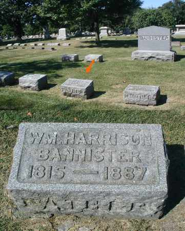 BANNISTER, WILLIAM HARRISON - DuPage County, Illinois | WILLIAM HARRISON BANNISTER - Illinois Gravestone Photos