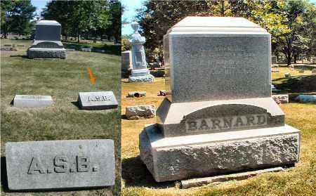 BARNARD, A. S. B. - DuPage County, Illinois | A. S. B. BARNARD - Illinois Gravestone Photos