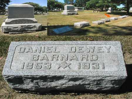 BARNARD, DANIEL DEWEY - DuPage County, Illinois | DANIEL DEWEY BARNARD - Illinois Gravestone Photos