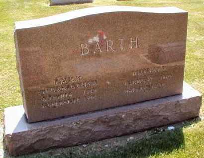 BARTH, EMILY - DuPage County, Illinois | EMILY BARTH - Illinois Gravestone Photos