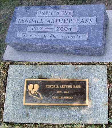 BASS, KENDALL ARTHUR - DuPage County, Illinois | KENDALL ARTHUR BASS - Illinois Gravestone Photos