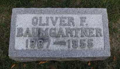 BAUMGARTNER, OLIVER F. - DuPage County, Illinois | OLIVER F. BAUMGARTNER - Illinois Gravestone Photos