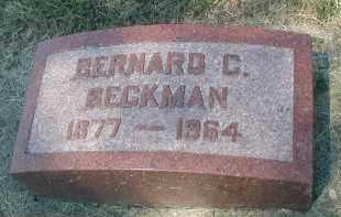 BECKMAN, BERNARD C. - DuPage County, Illinois | BERNARD C. BECKMAN - Illinois Gravestone Photos