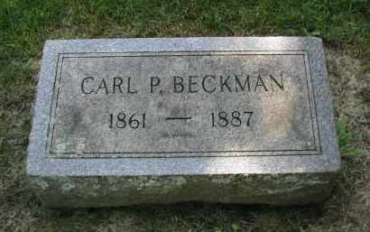 BECKMAN, CARL P. - DuPage County, Illinois | CARL P. BECKMAN - Illinois Gravestone Photos