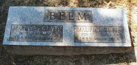 BEEM, MARGERY OLIVER - DuPage County, Illinois   MARGERY OLIVER BEEM - Illinois Gravestone Photos