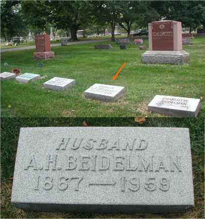BEIDELMAN, A. H. - DuPage County, Illinois | A. H. BEIDELMAN - Illinois Gravestone Photos