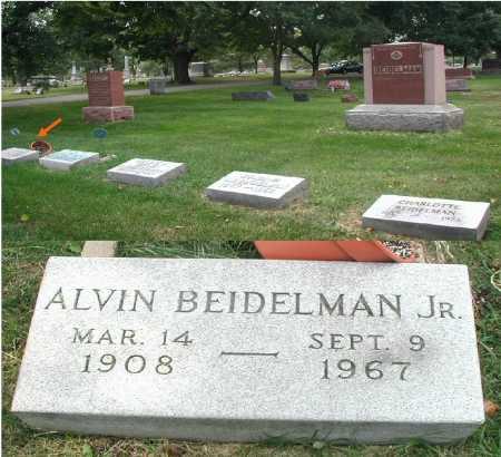 BEIDELMAN, ALVIN JR. - DuPage County, Illinois   ALVIN JR. BEIDELMAN - Illinois Gravestone Photos
