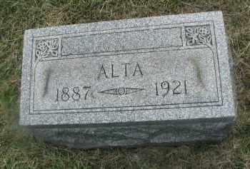 BEIDELMAN, ALTA - DuPage County, Illinois   ALTA BEIDELMAN - Illinois Gravestone Photos