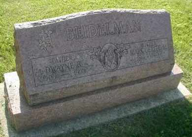 BEIDELMAN, DWAYNE B. - DuPage County, Illinois | DWAYNE B. BEIDELMAN - Illinois Gravestone Photos