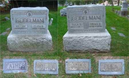 BEIDELMAN, ELIZA B. - DuPage County, Illinois | ELIZA B. BEIDELMAN - Illinois Gravestone Photos