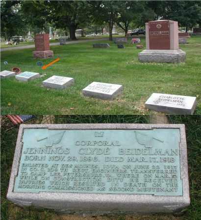 BEIDELMAN, JENNINGS CLYDE - DuPage County, Illinois | JENNINGS CLYDE BEIDELMAN - Illinois Gravestone Photos