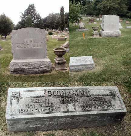 BEIDELMAN, ALEXANDER E. - DuPage County, Illinois | ALEXANDER E. BEIDELMAN - Illinois Gravestone Photos