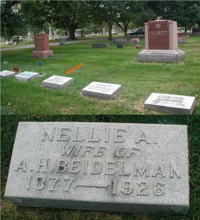 BEIDELMAN, NELLIE A. - DuPage County, Illinois | NELLIE A. BEIDELMAN - Illinois Gravestone Photos