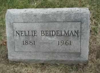 BEIDELMAN, NELLIE - DuPage County, Illinois   NELLIE BEIDELMAN - Illinois Gravestone Photos