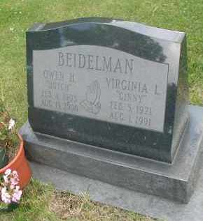 "BEIDELMAN, OWEN H. ""DUTCH"" - DuPage County, Illinois 