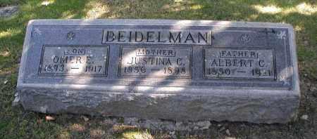 BEIDELMAN, ALBERT C. - DuPage County, Illinois | ALBERT C. BEIDELMAN - Illinois Gravestone Photos