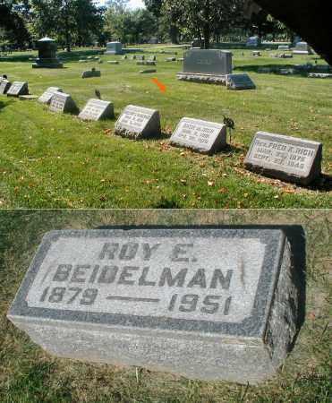 BEIDELMAN, ROY E. - DuPage County, Illinois | ROY E. BEIDELMAN - Illinois Gravestone Photos