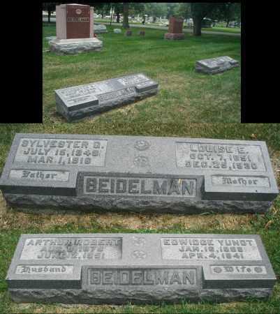 BEIDELMAN, EDWIDGE - DuPage County, Illinois | EDWIDGE BEIDELMAN - Illinois Gravestone Photos