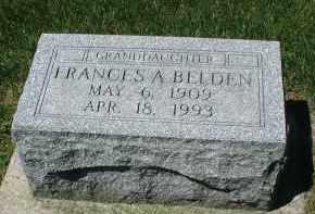 BELDEN, FRANCIS A. - DuPage County, Illinois | FRANCIS A. BELDEN - Illinois Gravestone Photos