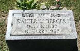 BERGER, WALTER L. - DuPage County, Illinois   WALTER L. BERGER - Illinois Gravestone Photos