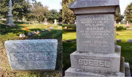 BOEBEL, SARAH - DuPage County, Illinois | SARAH BOEBEL - Illinois Gravestone Photos