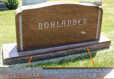 BOHLANDER, JOHN J. - DuPage County, Illinois   JOHN J. BOHLANDER - Illinois Gravestone Photos
