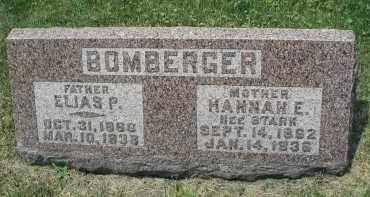 BOMBERGER, ELIAS P. - DuPage County, Illinois | ELIAS P. BOMBERGER - Illinois Gravestone Photos