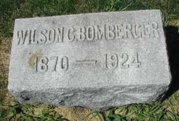 BOMBERGER, WILSON C. - DuPage County, Illinois   WILSON C. BOMBERGER - Illinois Gravestone Photos
