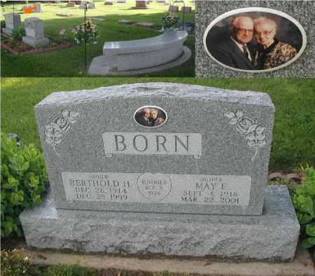 BORN, BERTHOLD H. - DuPage County, Illinois   BERTHOLD H. BORN - Illinois Gravestone Photos