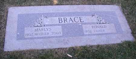 BRACE, MARLYS - DuPage County, Illinois | MARLYS BRACE - Illinois Gravestone Photos