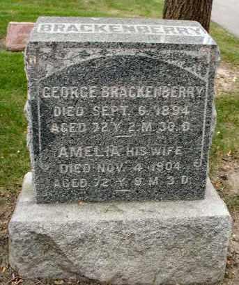 BRACKENBERRY, GEORGE - DuPage County, Illinois   GEORGE BRACKENBERRY - Illinois Gravestone Photos