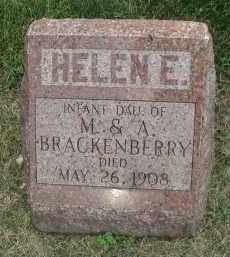 BRACKENBERRY, HELEN E. - DuPage County, Illinois | HELEN E. BRACKENBERRY - Illinois Gravestone Photos