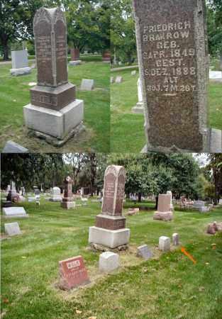 BRAKROW, FRIEDRICH - DuPage County, Illinois | FRIEDRICH BRAKROW - Illinois Gravestone Photos