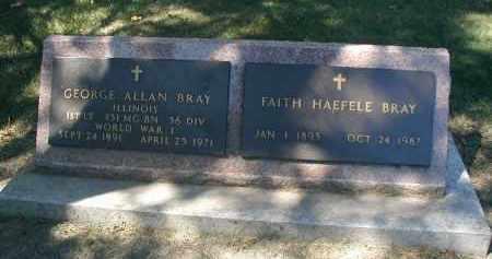 BRAY, FAITH - DuPage County, Illinois | FAITH BRAY - Illinois Gravestone Photos