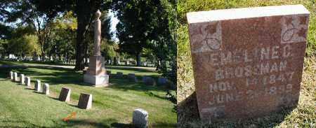 BROSSMAN, EMELINE C. - DuPage County, Illinois | EMELINE C. BROSSMAN - Illinois Gravestone Photos