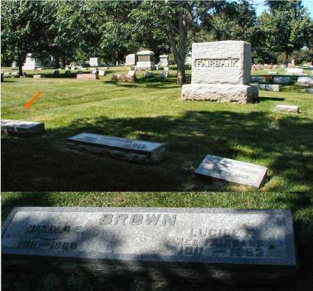 BROWN, HAROLD E. - DuPage County, Illinois | HAROLD E. BROWN - Illinois Gravestone Photos