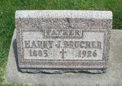 BRUCHER, HARRY J. - DuPage County, Illinois | HARRY J. BRUCHER - Illinois Gravestone Photos
