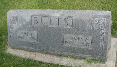 BUTTS, FRED - DuPage County, Illinois | FRED BUTTS - Illinois Gravestone Photos