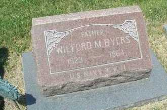 BYERS, WILFORD M. - DuPage County, Illinois   WILFORD M. BYERS - Illinois Gravestone Photos