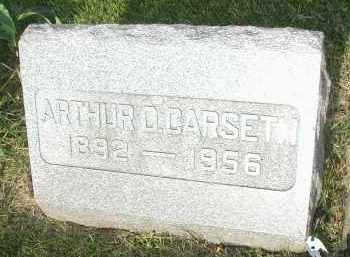 CARSETH, ARTHUR D. - DuPage County, Illinois | ARTHUR D. CARSETH - Illinois Gravestone Photos