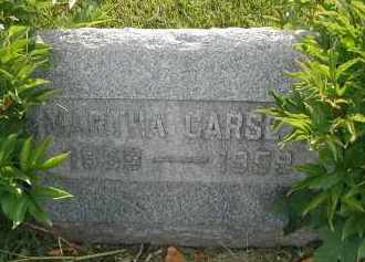 CARSETH, MARTHA - DuPage County, Illinois | MARTHA CARSETH - Illinois Gravestone Photos