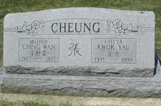 CHEUNG, CHING WAN - DuPage County, Illinois | CHING WAN CHEUNG - Illinois Gravestone Photos