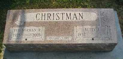 CHRISTMAN, REV. NORMAN R. - DuPage County, Illinois | REV. NORMAN R. CHRISTMAN - Illinois Gravestone Photos