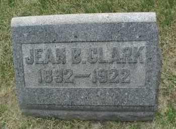 CLARK, JEAN B. - DuPage County, Illinois | JEAN B. CLARK - Illinois Gravestone Photos