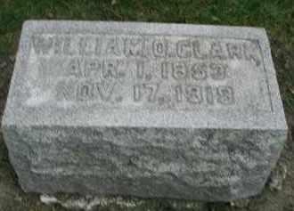 CLARK, WILLIAM O. - DuPage County, Illinois | WILLIAM O. CLARK - Illinois Gravestone Photos