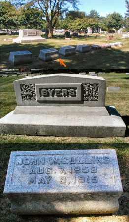 COLLINS, JOHN W. - DuPage County, Illinois | JOHN W. COLLINS - Illinois Gravestone Photos