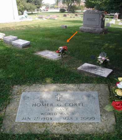 COREL, HOMER G. - DuPage County, Illinois | HOMER G. COREL - Illinois Gravestone Photos