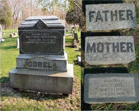 COREL, IDA - DuPage County, Illinois | IDA COREL - Illinois Gravestone Photos