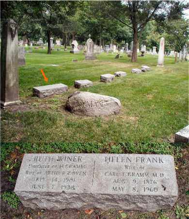 COVEN, RUTH WINER - DuPage County, Illinois | RUTH WINER COVEN - Illinois Gravestone Photos